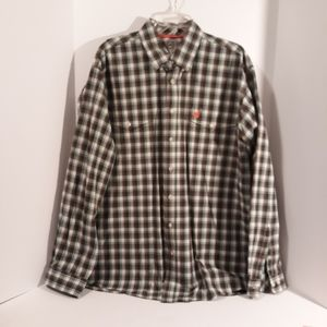 Cinch Men's dress shirt L/S Size L